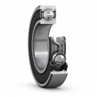 SKF-deep-groove-ball-bearing-with-RSH-seal-on-booth-side-steel-cage